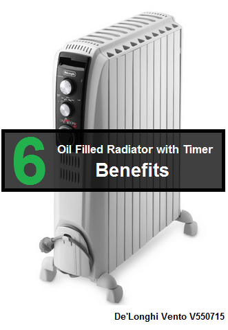 Benefits of oil filled radiator with timer